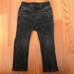 Other - Boys black skinny jeans size 92cm